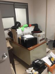 office 2-1 messy desk