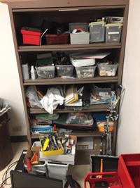 shelf 1-1messy