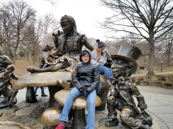 Kid in Central Park