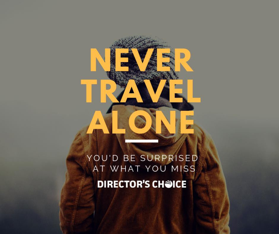 Never Travel Alone social FB